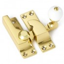 Croft White Ball Sash Fastener in Brass Bronze Chrome or Nickel