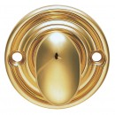 Ribbed Turn And Release in Polished Brass
