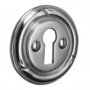 Brassart Bamboo Escutcheon in Brass Bronze Chrome or Nickel