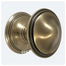 Brassart Beaded Centre Door Knobs In Brass Bronze Chrome or Nickel