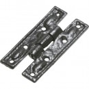 Kirkpatrick Plain H Hinge Antique Black Argent or Pewter