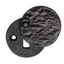 Black Antique Covered Escutcheon